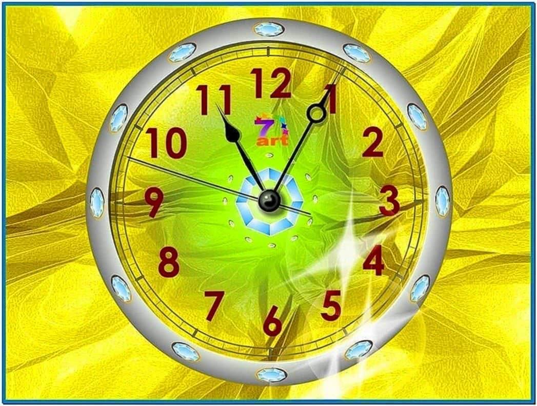 Mac Clock Screensaver Windows 7