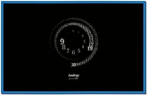 Mac Clock Screensaver Windows 8