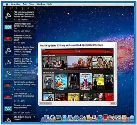Mac Desktop and Screensaver Freezes