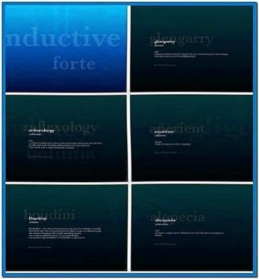 Mac dictionary screensaver for PC
