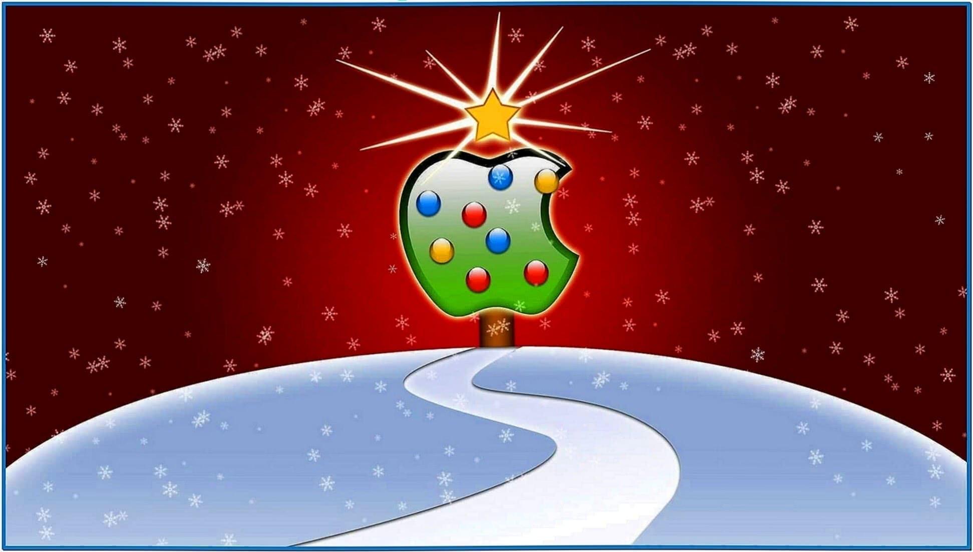 Mac OS Screensaver Christmas