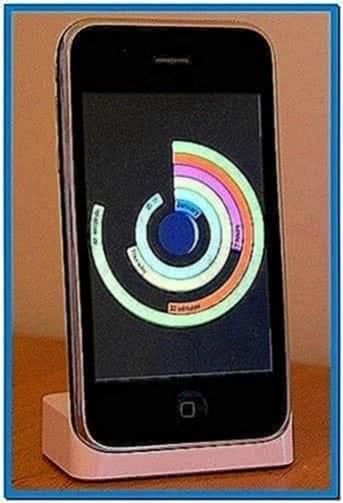 Mac OS X 10.6 Clock Screensaver