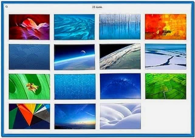 Mac OS X 10.8 Screensavers