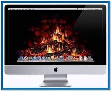 Mac OS X Fireplace Screensavers