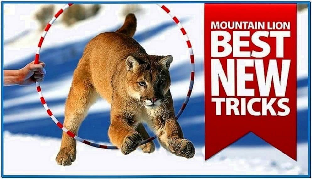 Mac os x mountain lion mosaic screensaver
