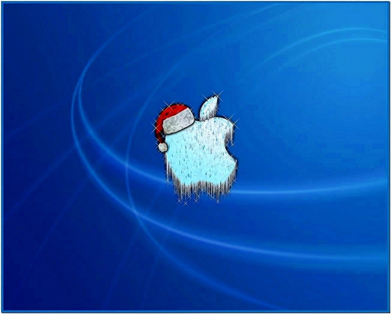 Mac screensaver christmas