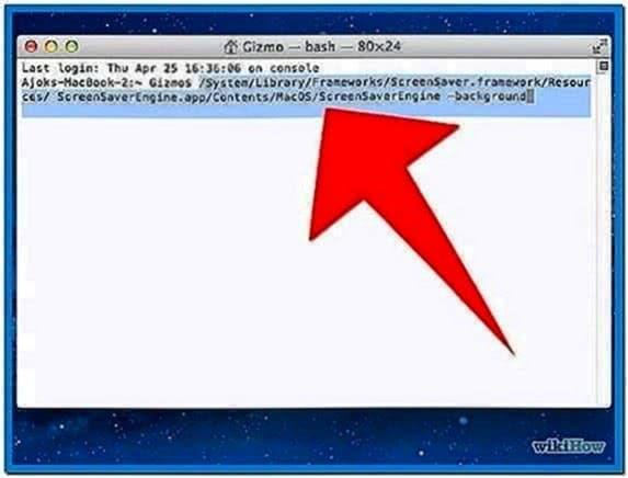 Mac Screensaverengine App