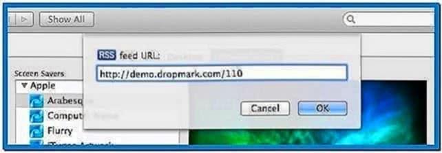 Mac Style Slideshow Screensaver