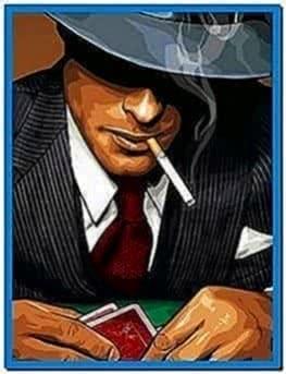 Mafia screensaver for mobile