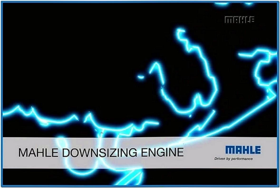 Mahle Engine Screensaver