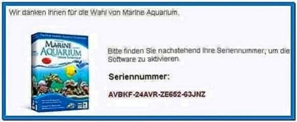 Marine Aquarium 3 Screensaver Keycode