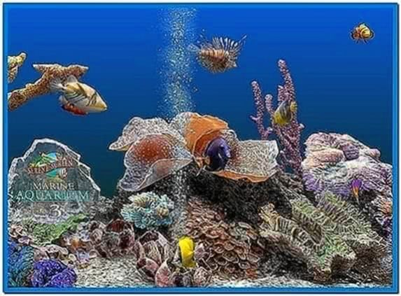 Marine Aquarium 3.0 Screensaver