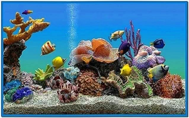Marine Aquarium Deluxe 3.0 Screensaver