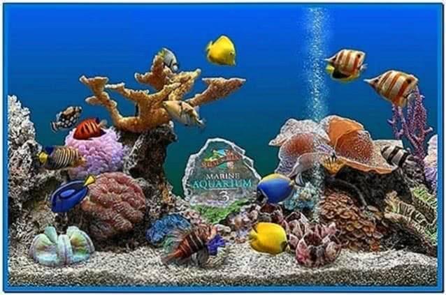 Marine Aquarium Deluxe Screensaver
