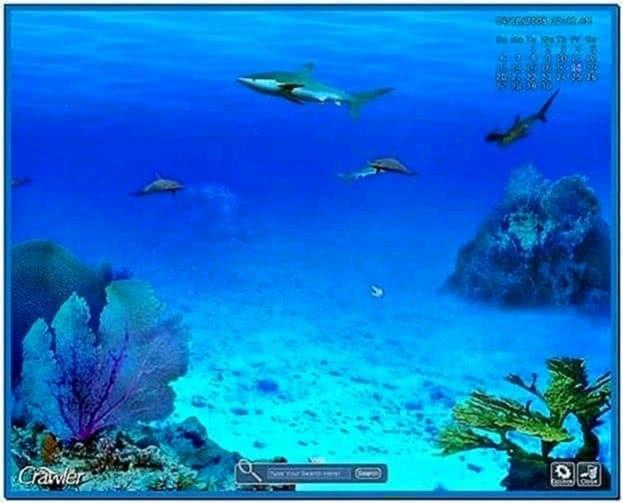Marine aquarium fish screensaver 3D