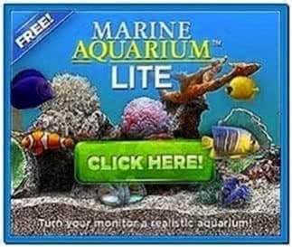 Marine Aquarium Lite Screensaver Download For Free
