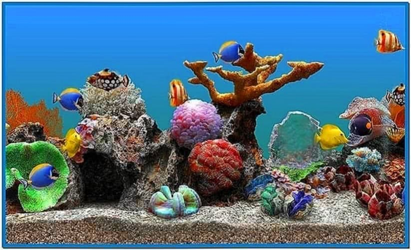 Marine aquarium lite wallpaper free download