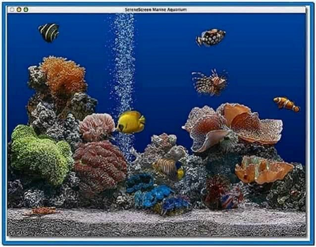 Marine Aquarium Screensaver Mac OS X