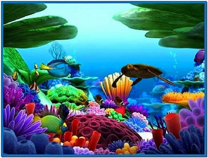 Marine Life 3D Screensaver