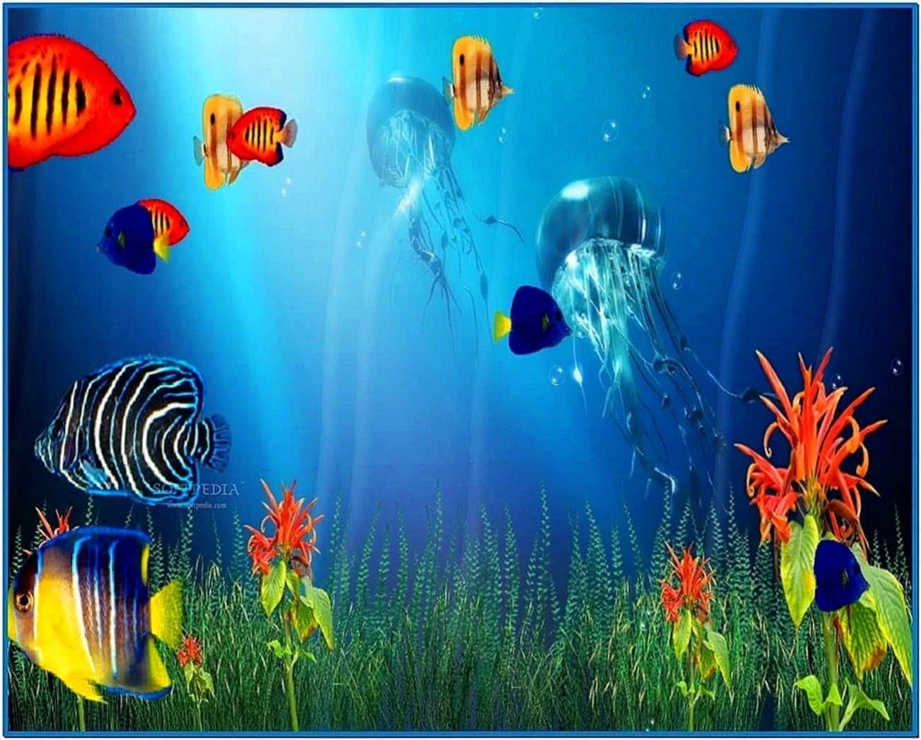 Marine Life Aquarium 3D Screensaver