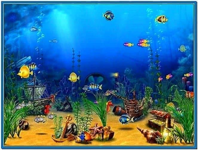 Marine Life Aquarium 3D Screensaver 2020