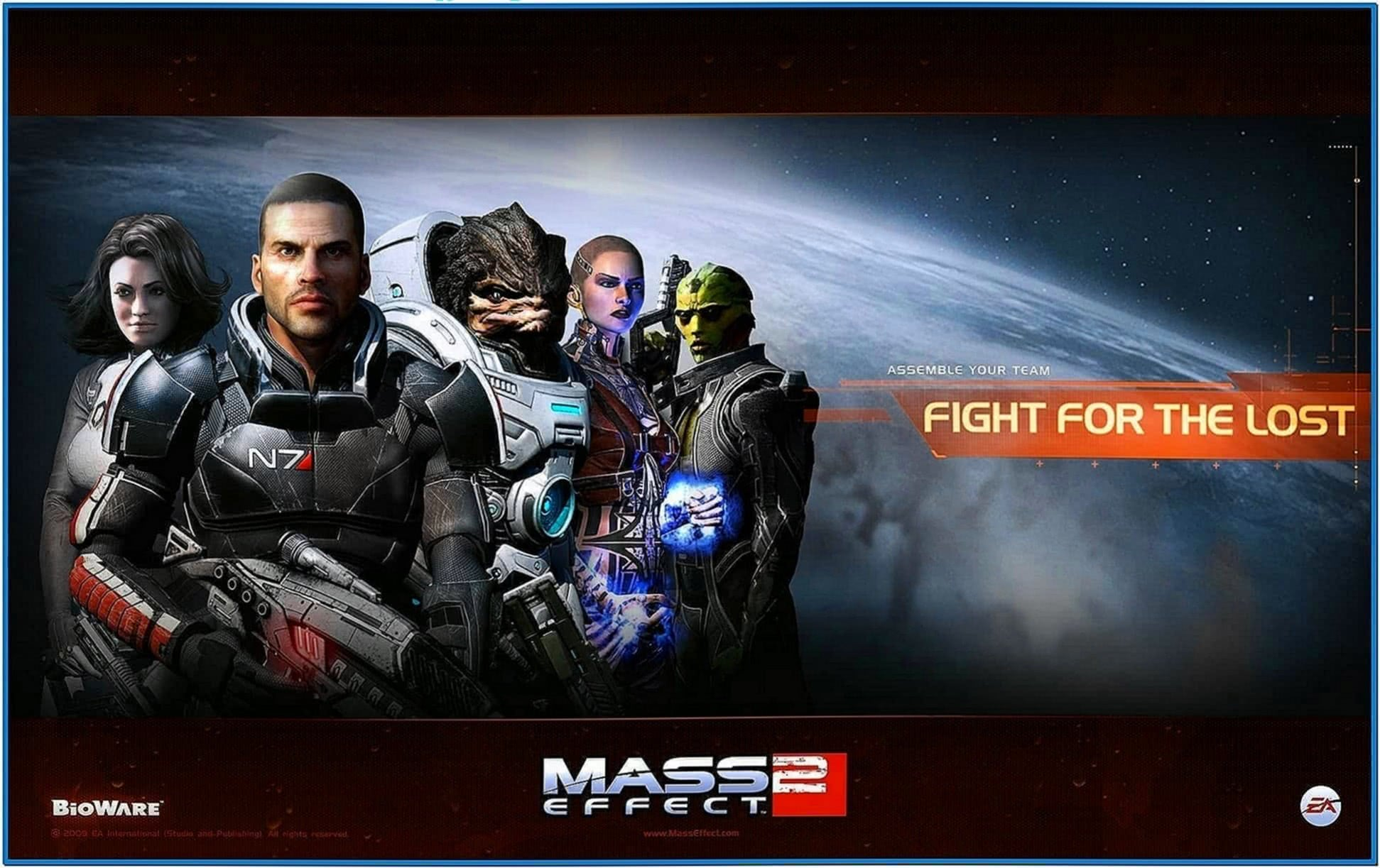 Mass Effect 2 Screensaver