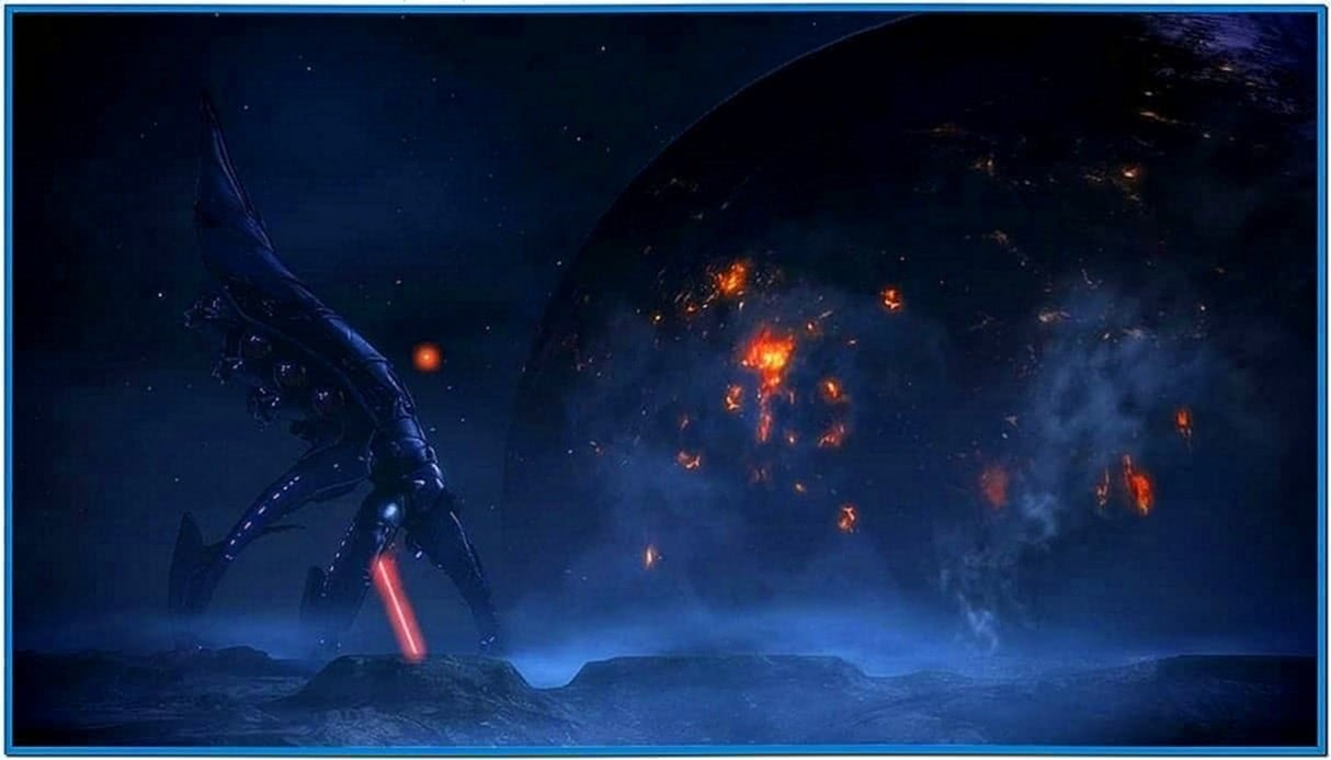 Mass Effect 3 Animated Screensaver