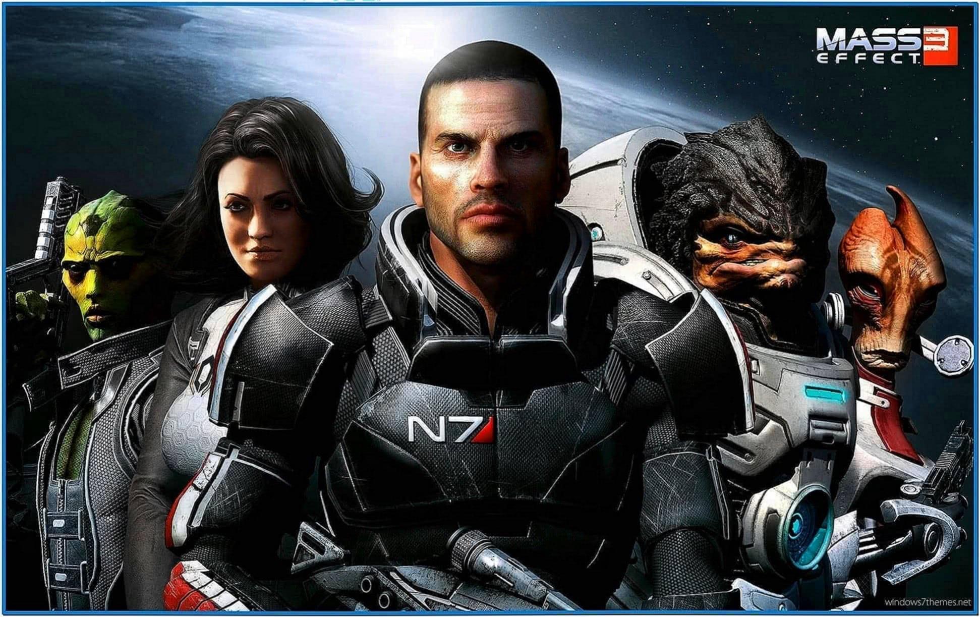 Mass Effect 3 Screensaver Windows 7