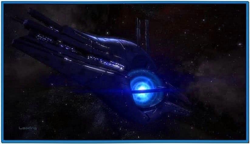 Mass Effect Relay Screensaver