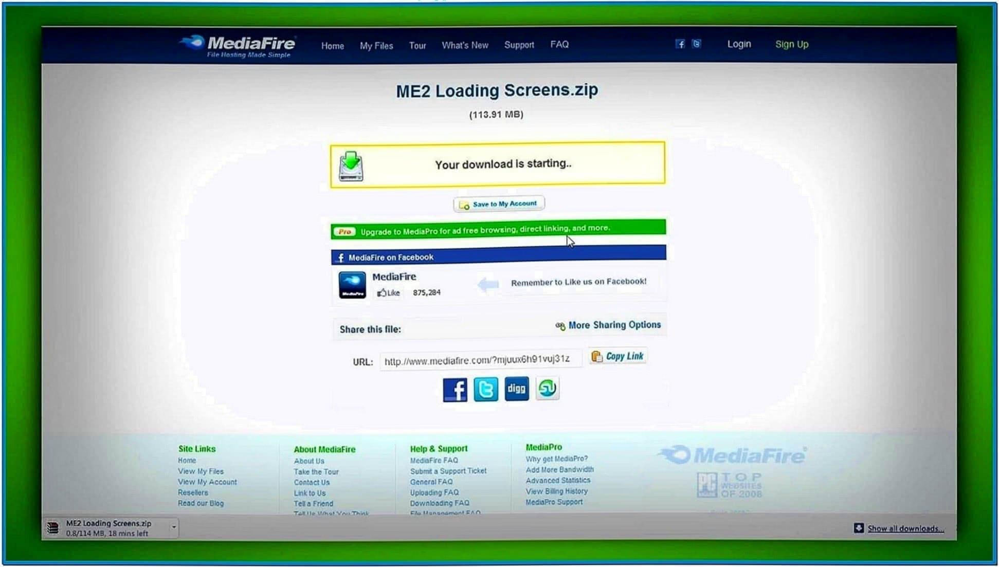 Mass Effect Screensaver Mac