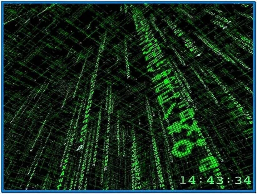 Matrix 3D Screensaver Freeware