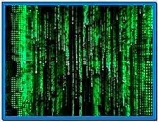 Matrix 3D screensaver Mac os x