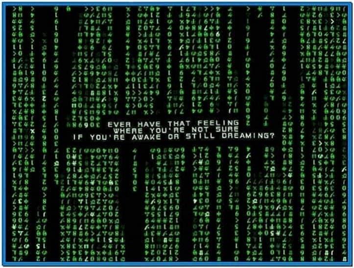 Matrix Code Emulator Screensaver