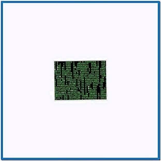 Matrix Code Screensaver for Linux