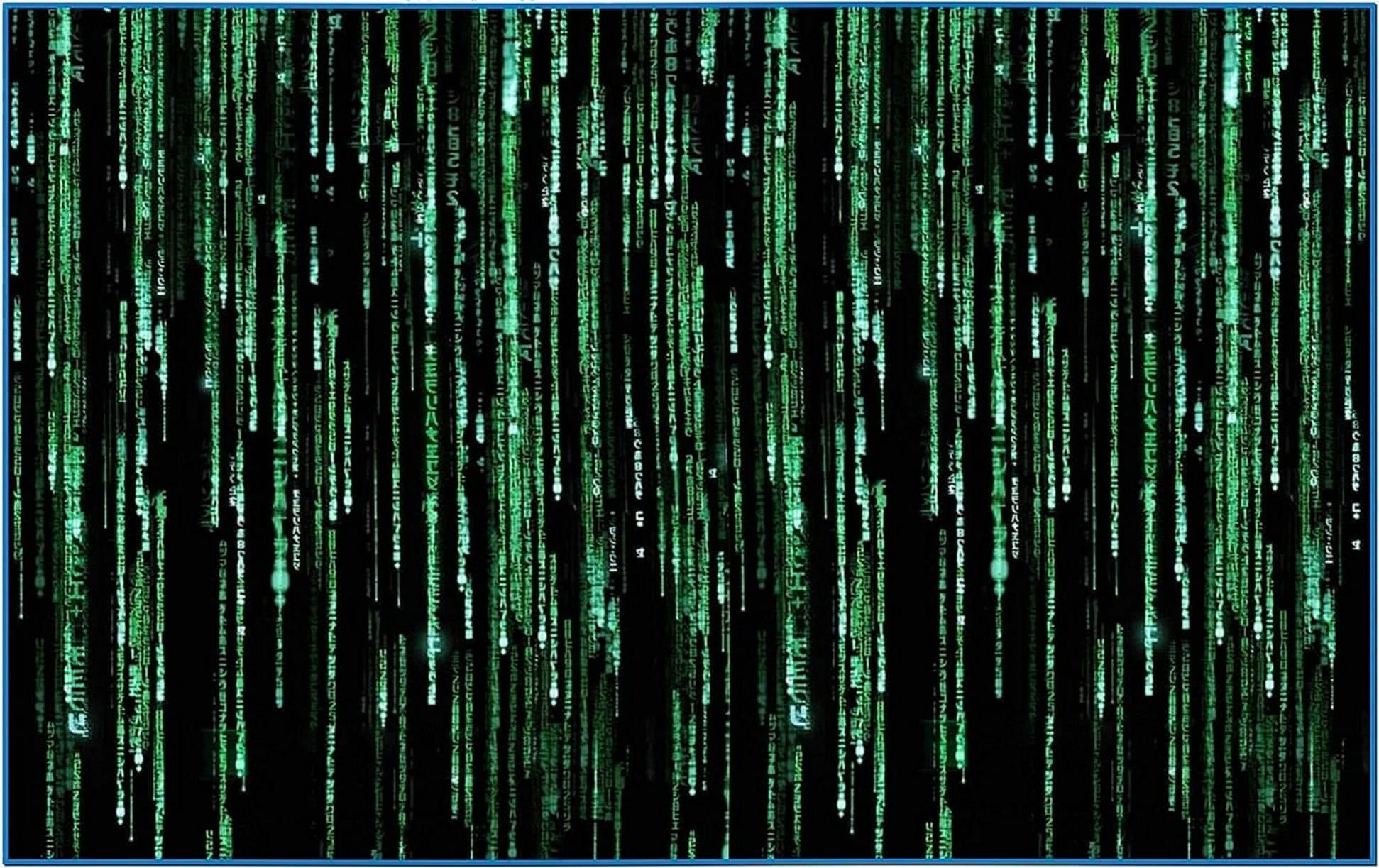 Matrix Code Screensaver Windows 8