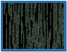 Matrix Code Screensaver Windows XP
