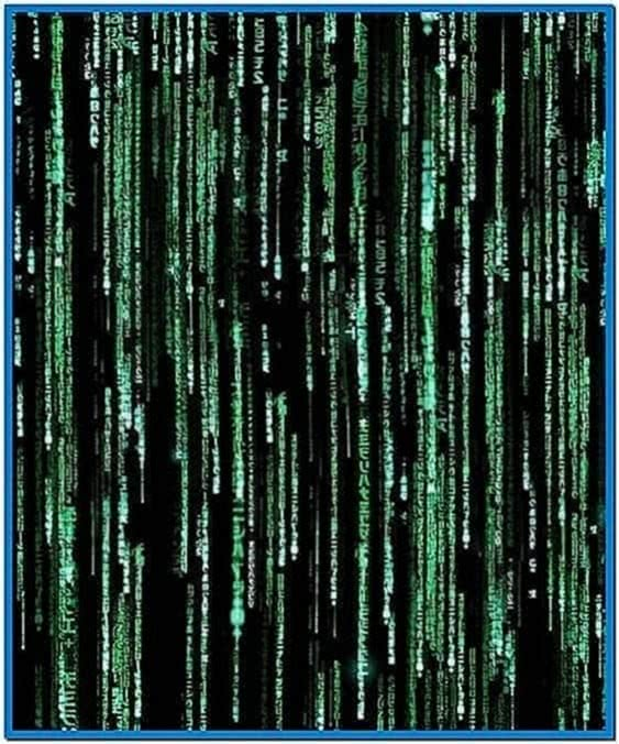 Matrix Digital Rain Screensaver Mac
