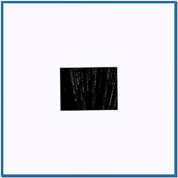 Matrix Falling Code Screensaver Windows 7