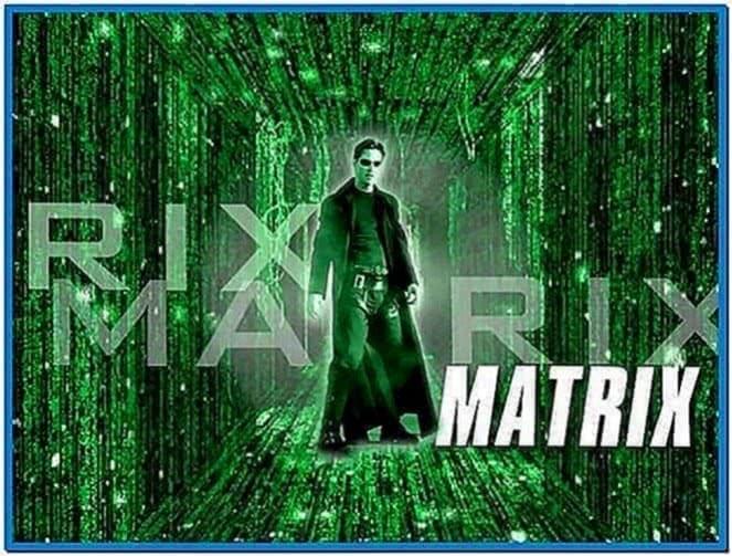 Matrix Movie Screensaver