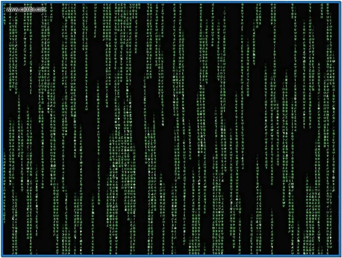 Matrix Rain Screensaver Windows