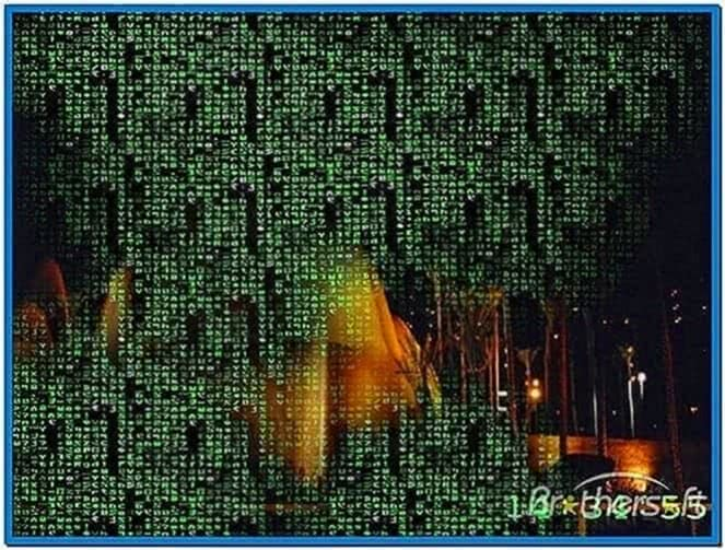Matrix Reality Screensaver 1.0