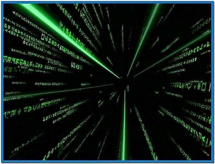 Matrix Reality Screensaver