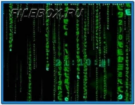 Matrix Reloaded 3D Screensaver 3.01