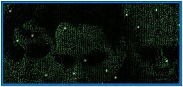 Matrix Reloaded Screensaver Mac OS X