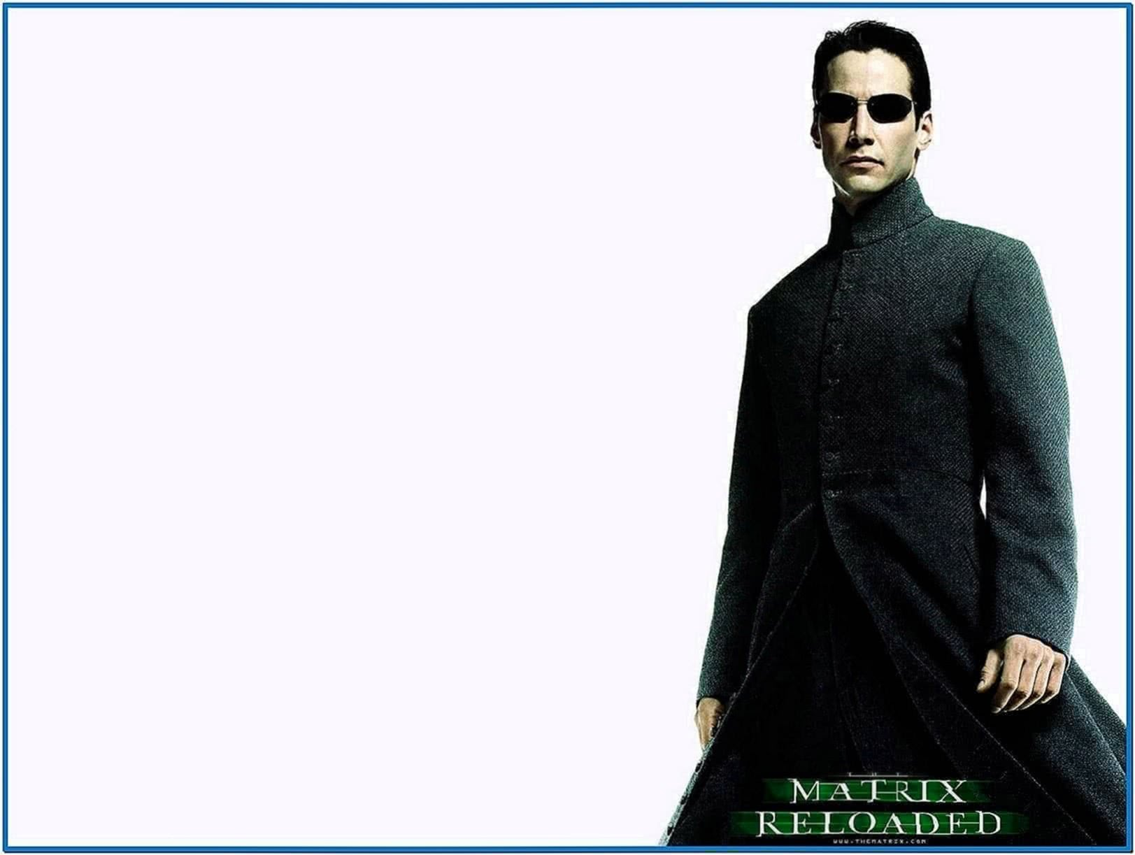Matrix Reloaded Screensaver Mac