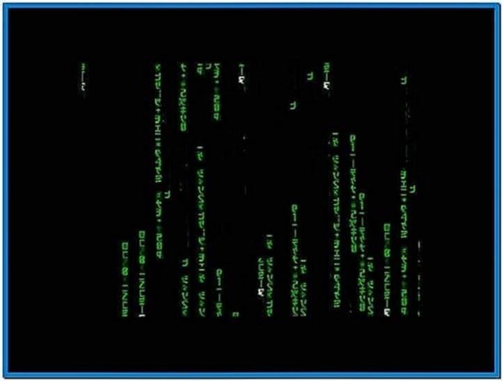 Matrix Screensaver Full Version