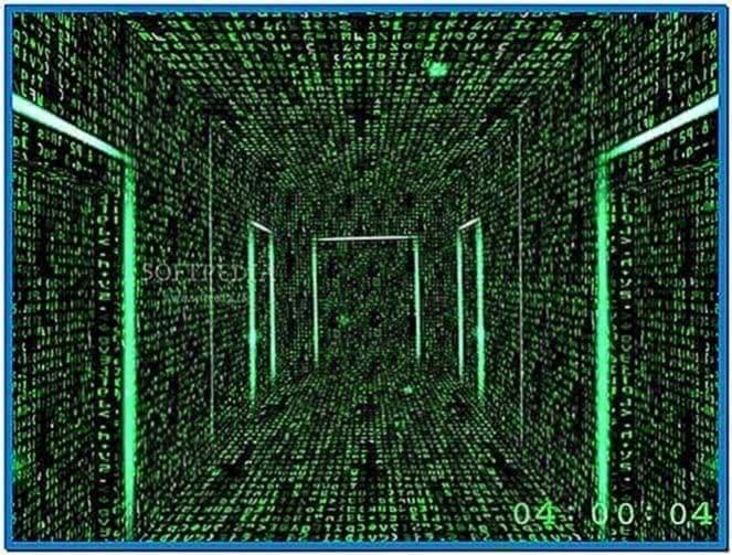 Matrix screensaver Linux