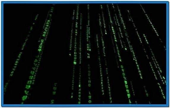 Matrix Screensaver Mac OS Lion
