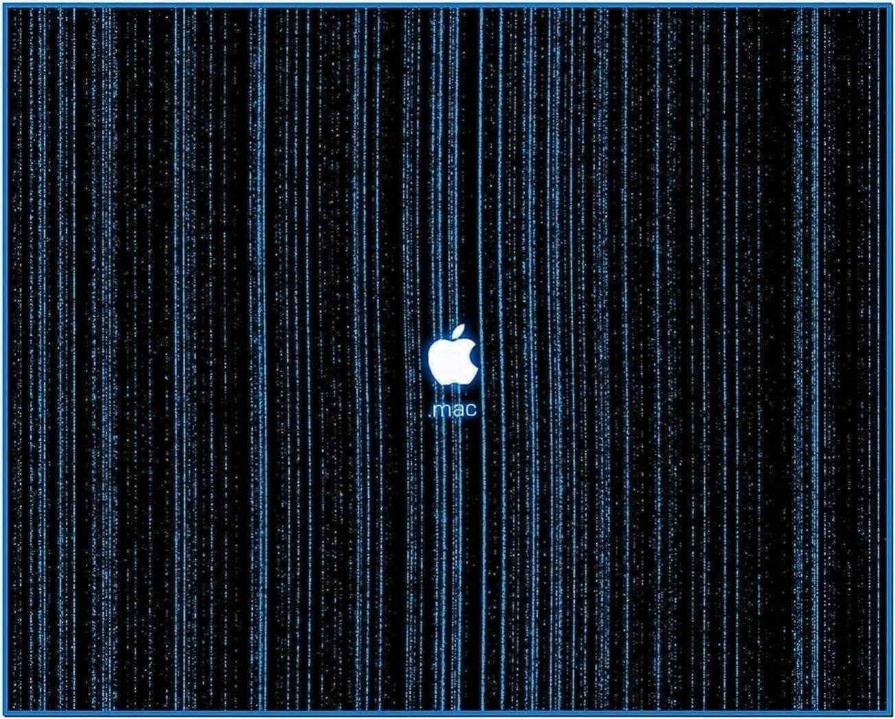 Matrix Screensaver Mac OS X Leopard