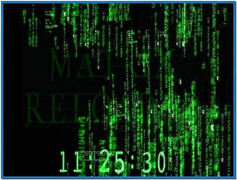 Matrix Screensaver PC